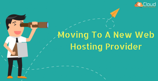 Moving To A New Web Hosting Provider