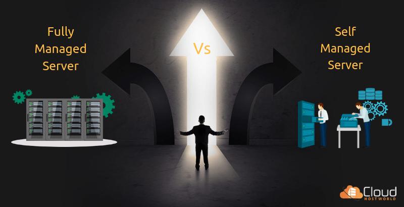 Fully managed server vs. self managed server