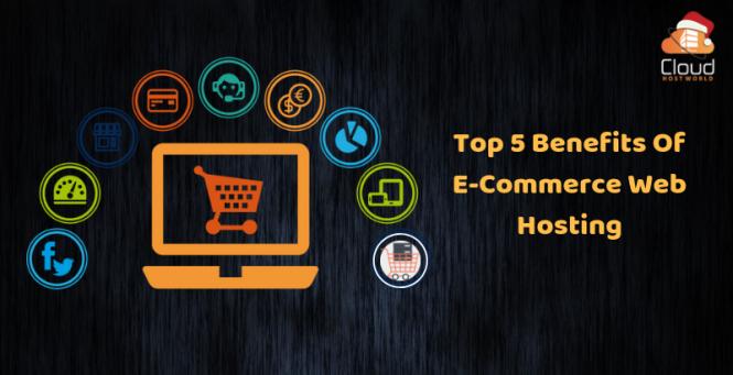 Top 5 Benefits of E-Commerce Web Hosting