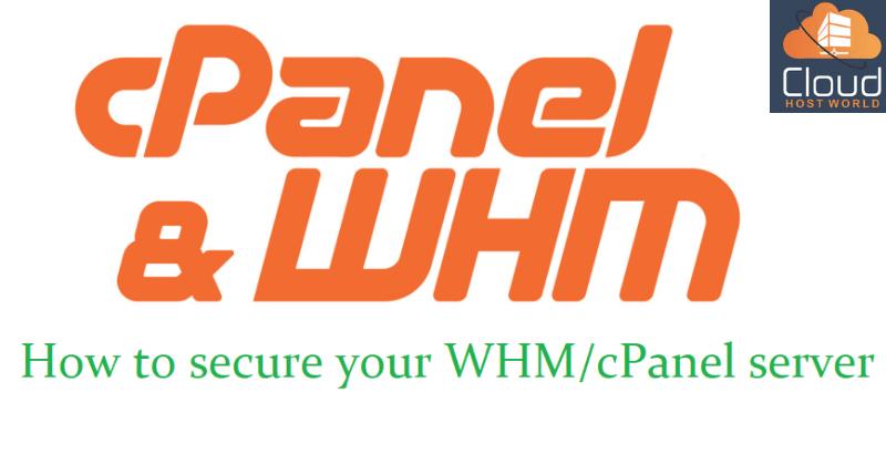 WHM Secure server tips