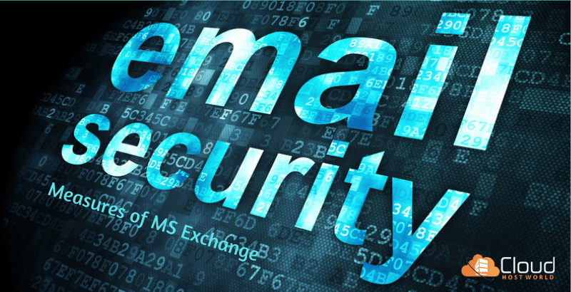 Built-in security measures of MS Exchange