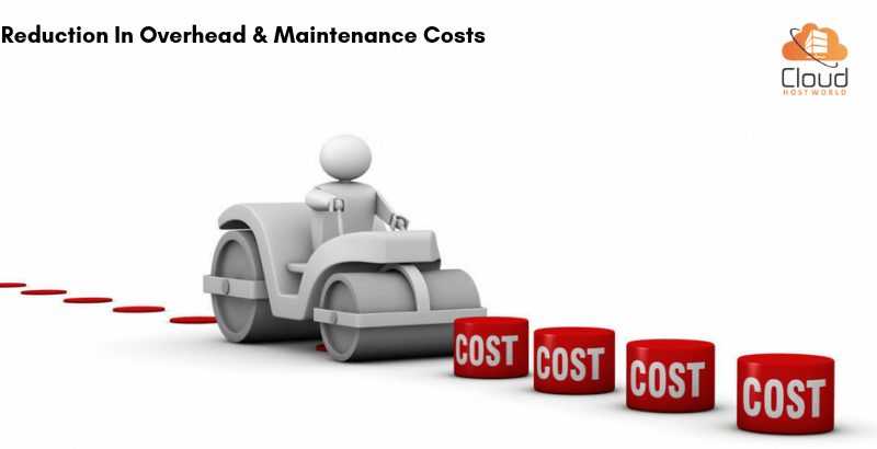 Reduction in overhead and maintenance costs
