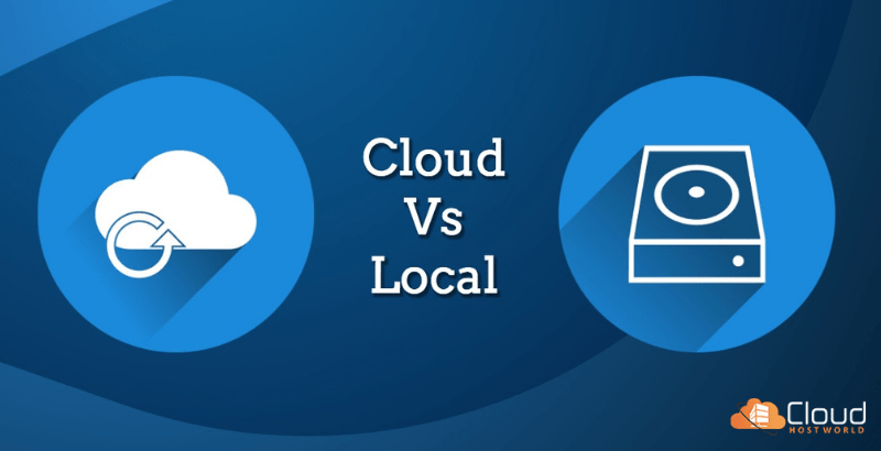Local Backup vs. Cloud Backup : Choose your #1 backup plan 1