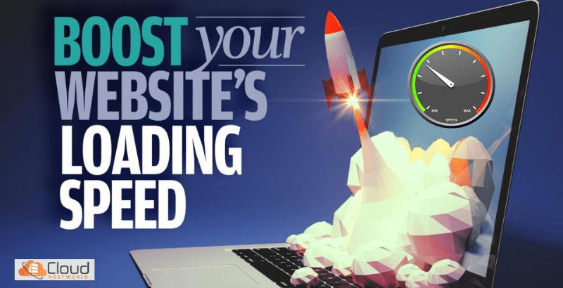 Boost website loading speed cloudhostworld