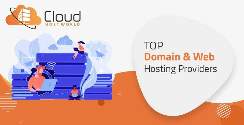 Top Domain and Web hosting Providers