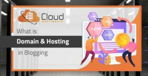 What is Domain and Hosting in Blogging